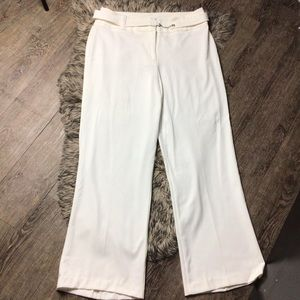Investments dress pants size 14 L belted